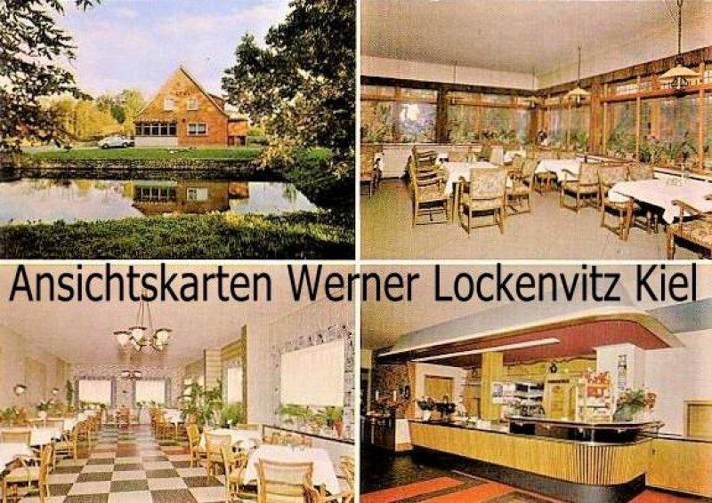Ansichtskarte Schwedeneck-Dänisch-Nienhof Kiel Hotel-Pension Zur Schmiede