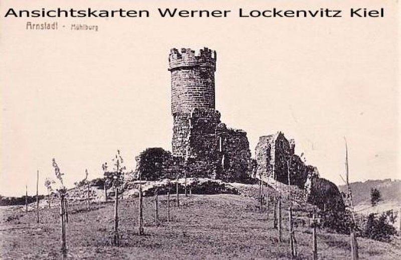 Ansichtskarte Arnstadt Mühlburg