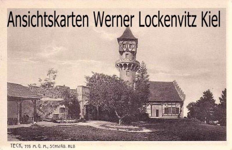 Ansichtskarte Owen-Teck Ortsansicht mit Turm