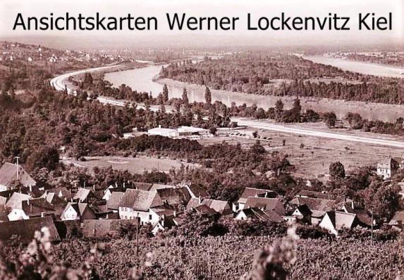 Ansichtskarte Bellingen Ortsansicht Panorama mit Blick ins Rheintal