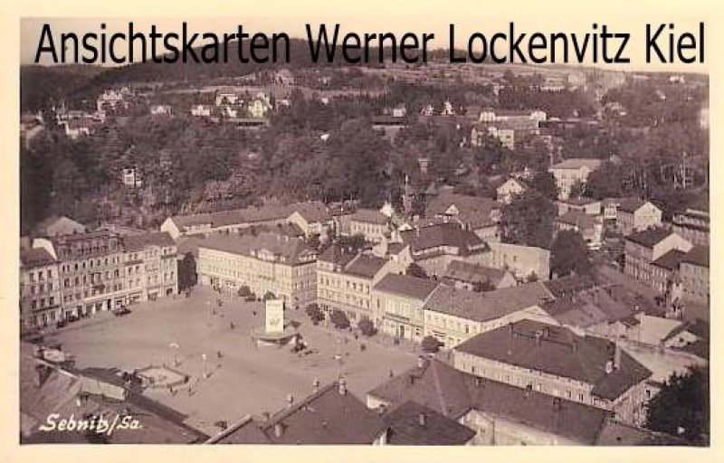Ansichtskarte Sebnitz in Sachsen Panorama Ortsansicht