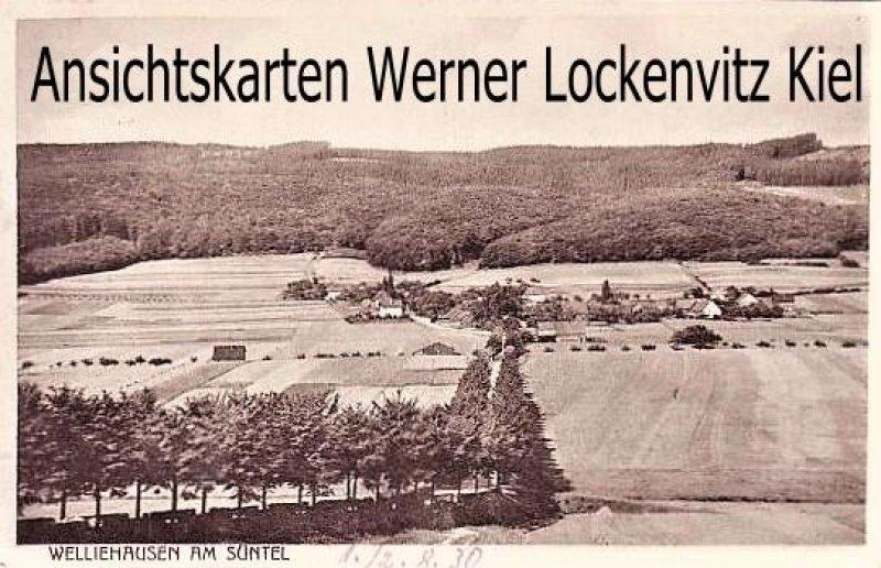Ansichtskarten Bremke-Welliehausen am Süntel Ortsansicht Panorama