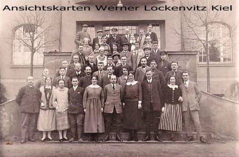 Ansichtskarte Ellrich-Sülzhayn Sanatorium mit Belegschaft oder Patienten
