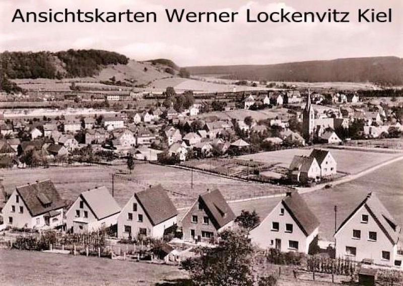 Ansichtskarte Altenbeken Ortsansicht