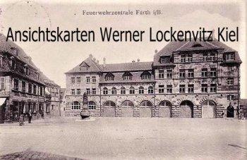 Ansichtskarte Fürth in Bayern Feuerwehrzentrale