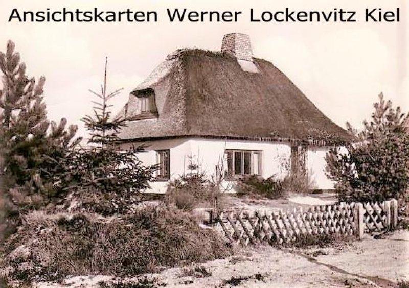 Ansichtskarte Nebel auf Amrum Haus Gotthard