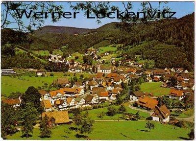 Ansichtskarte Schenkenzell im Schwarzwald Ortsansicht