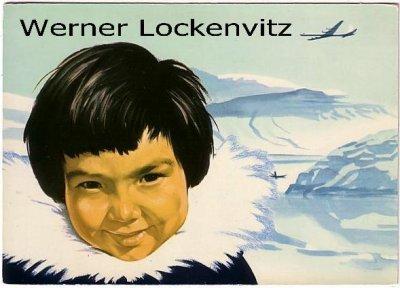 Ansichtskarte Vykorten Scandinavian Airlines System SAS Werbekarte Eskimojunge