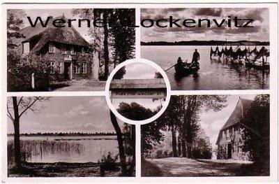 Ansichtskarte Scharbeutz-Pönitz Gasthaus Vierlinden am Pönitzer See