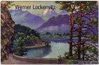 Ansichtskarte Schweiz Thunerseebahn Gemälde Künstlerkarte von Andr. Roth Bern
