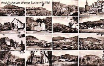 Ansichtskarte Porta Westfalica mehrfach Waldkater Todenmann Steinbergen Rinteln Paschenburg Rohdental
