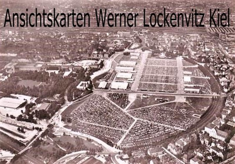 Ansichtskarte Nürnberg Luftbild Tagung der Zeugen Jehovas