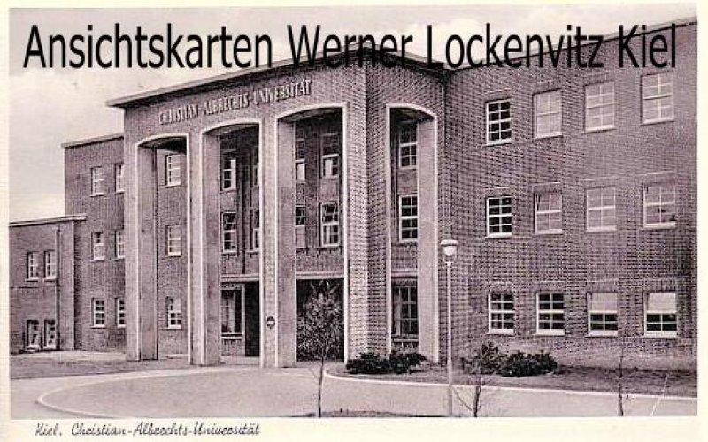 Ansichtskarte Kiel Universität Christian-Albrechts-Universität