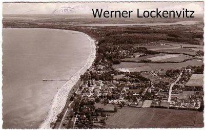 Ansichtskarte Scharbeutz Panorama Luftbild