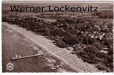 Ansichtskarte Timmendorfer Strand Panorama Luftbild