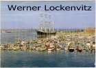 Ansichtskarte Schiffe Travemünde Yachthafen mit Passat