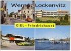 Ansichtskarte Kiel-Friedrichsort Straße Schule