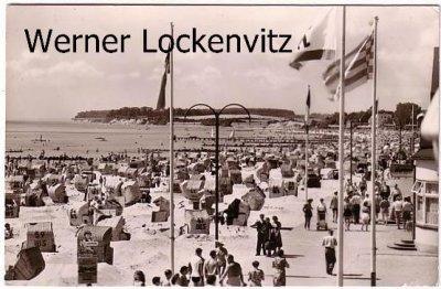 Ansichtskarte Grömitz Strandansicht