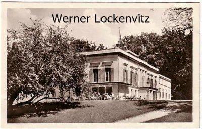 Ansichtskarte Berlin-Wannsee Schloss Glienicke Sportler-und Versehrten-Erholungsheim der BSG.