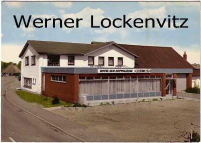Ansichtskarte Hohn bei Rendsburg Hotel Zur Doppeleiche Inh. M.u. W. Mehrens