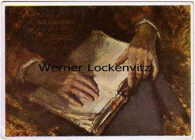 Ansichtskarte Haus der Deutschen Kunst HDK Nr. 250 Mutterhände