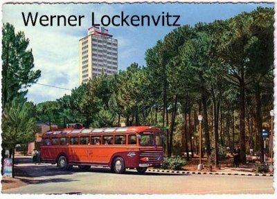 Ansichtskarte Cartolina Postale Illustrata Italien Italia Milano Mailand Hochhaus mit Bus