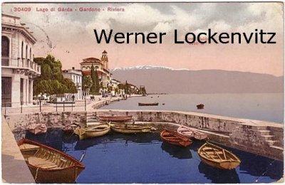 Ansichtskarte Italien Italia Lago di Garda Gardone Riviera