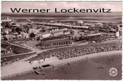 Ansichtskarte Büsum Panorama Luftbild