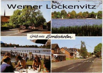 Ansichtskarte Bordesholm mehrfach Straße See