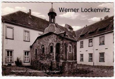 Ansichtskarte Helmstedt Doppelkapelle St. Ludgeri