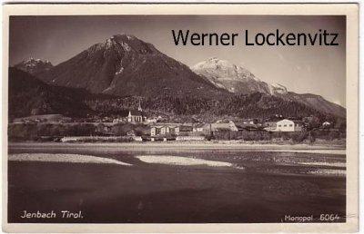 Ansichtskarte Österreich Jenbach Tirol Ortsansicht Panorama