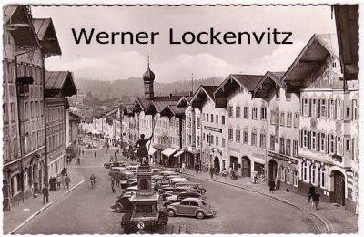 Ansichtskarte Bad Tölz an der Isar histor. Marktstraße