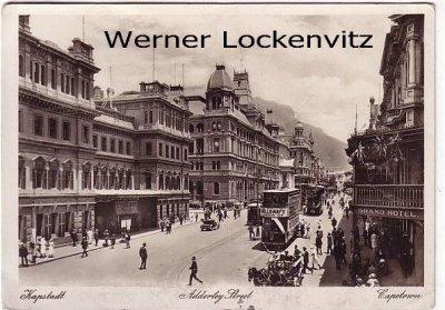 Postcard Capetown Adderley Street