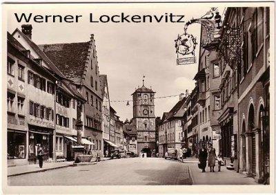 Ansichtskarte Wangen im Allgäu Herrenstraße