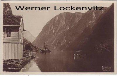 Ansichtskarte Norwegen Norge Gudvangen Sogn