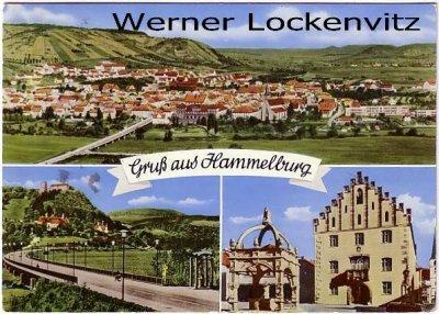 Ansichtskarte Hammelburg mehrfach Panorama altes Haus