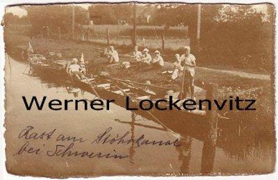 Ansichtskarte Lauenburg Rudersport Fertig machen unserer Boote