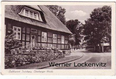 Ansichtskarte Jesteburg Luftkurort Lüneburger Heide Ortsstraße mit Drogerie