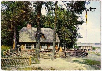 Ansichtskarte Ascheberg am Großen Plöner See Strandhalle