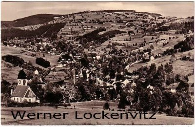 Ansichtskarte Klingenthal in Sachsen Panorama