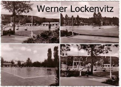Ansichtskarte Wernau am Neckar Freibad mehrfach