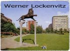 Ansichtskarte Berlin-Schöneberg Bayerischer Platz mit Plastik
