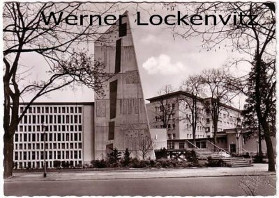 Ansichtskarte Krankenhaus Bethel Promenadenstraße in Berlin