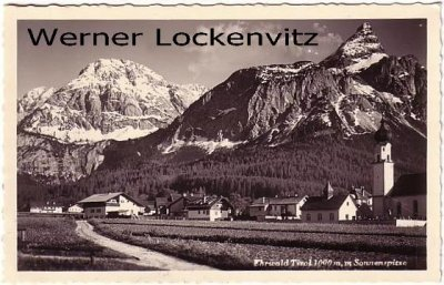 Ansichtskarte Österreich Ehrwald in Tirol Ortsansicht