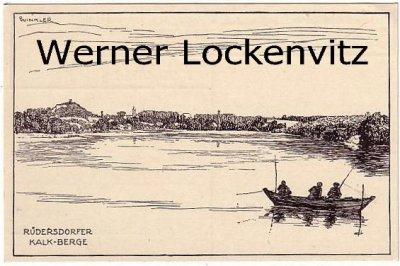 Ansichtskarte Rüdersdorfer Kalk-Berge bei Berlin