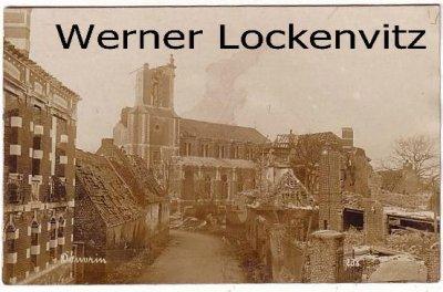 Ansichtskarte Carte Postale Frankreich France Douvrin zerstörte Häuser