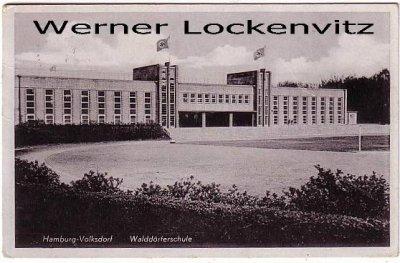 Ansichtskarte Hamburg-Volksdorf Waldörferschule