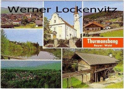 Ansichtskarte Thurmansbang Bayerischer Wald mehrfach