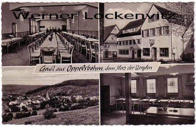 Ansichtskarte Berglen-Oppelsbohm mehrfach Gasthof Zum Waldhorn