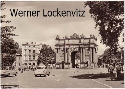 Ansichtskarte Potsdam Platz der Nationen